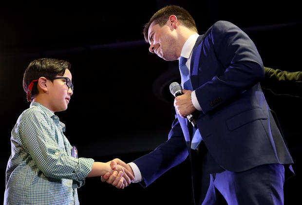 Democratic Presidential Candidate Pete Buttigieg Holds Town Hall In Denver
