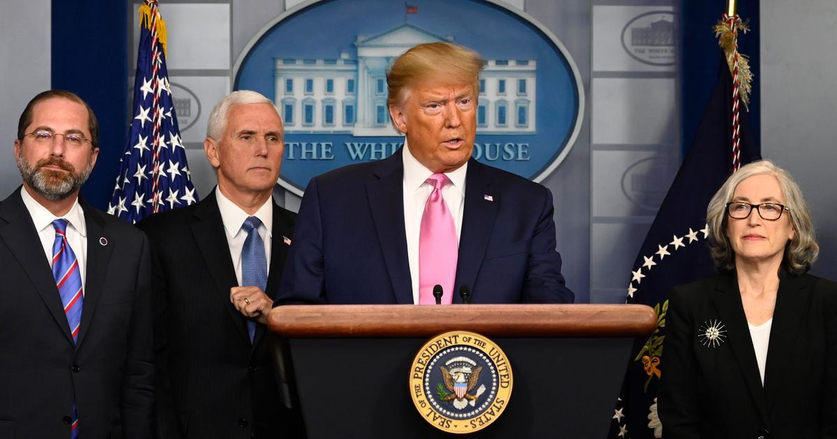 Trump taps Pence to head up coronavirus outbreak response