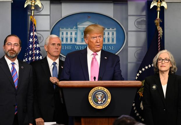 President Trump holds a news conference and selects Mike Pence to lead coronavirus response efforts