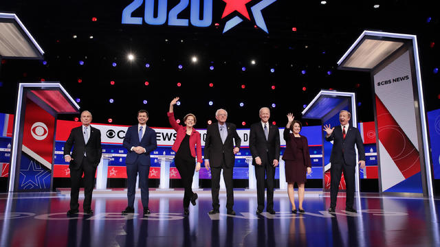 Democratic Presidential Candidates Debate In Charleston Ahead Of SC Primary