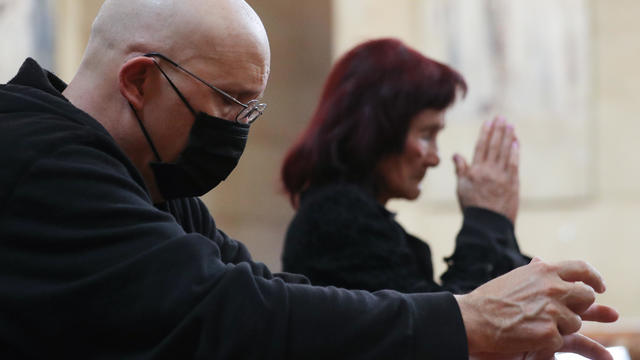 Christians Receive Ashes On Ash Wednesday To Mark The Beginning Of Lent