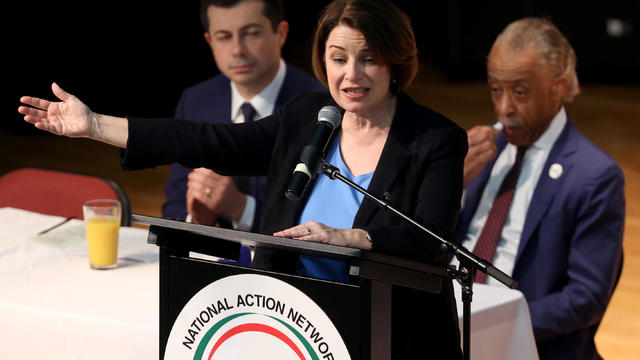 Democratic Presidential Candidates Attend National Action Network's Ministers' Breakfast
