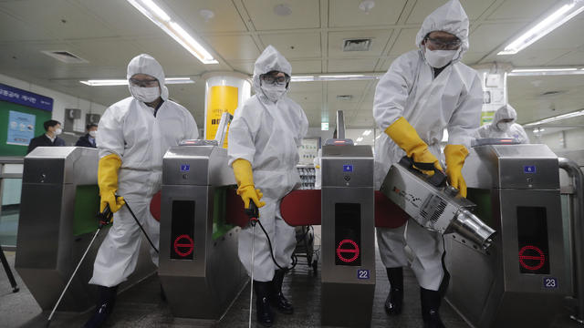 APTOPIX Virus Outbreak South Korea