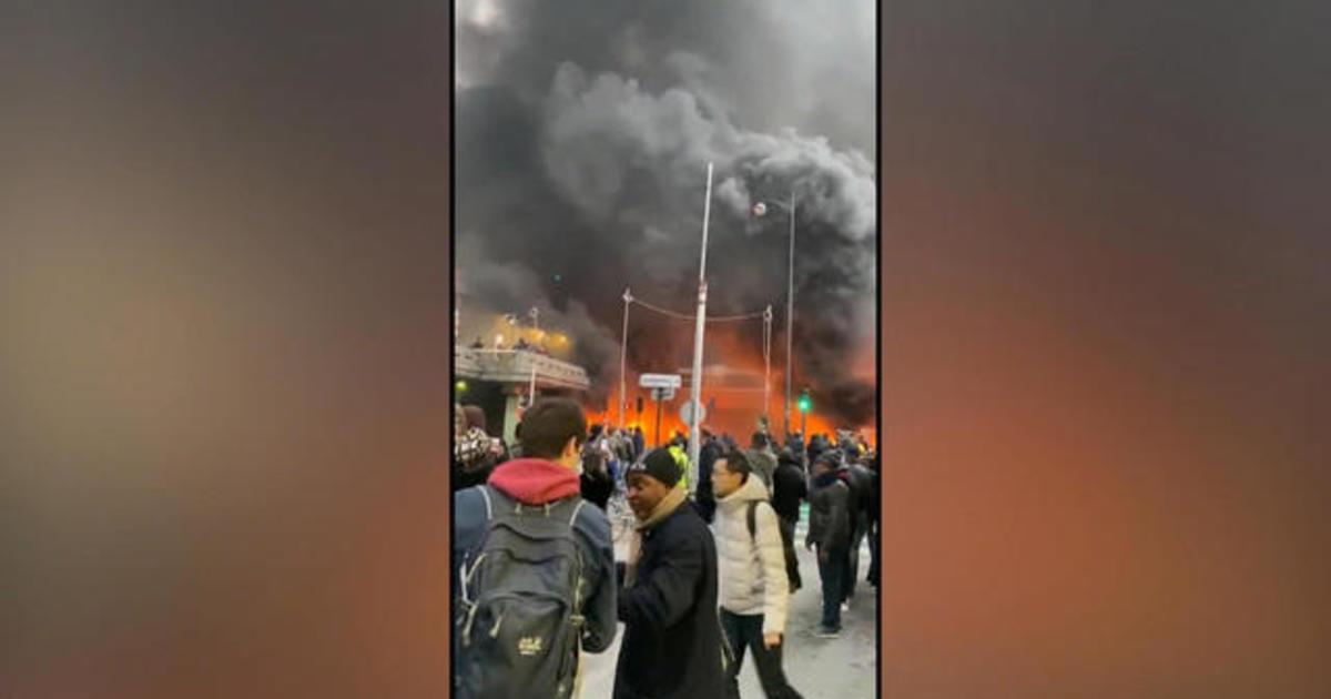 Fire breaks out near Gare De Lyon station, causing evacuations