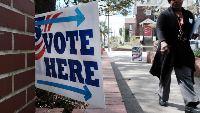 South Carolina Voters Head To The Polls For State's Primary