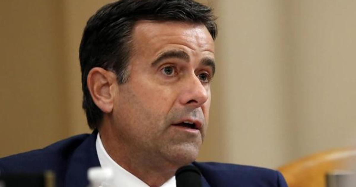 Trump nominates John Ratcliffe to be the new Director of National Intelligence