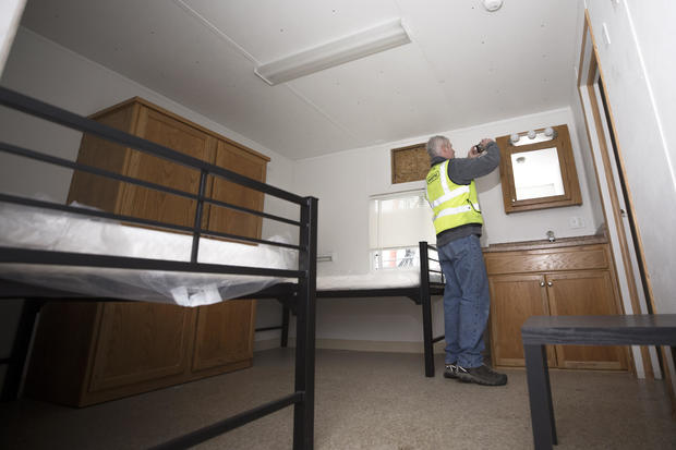 King County, Washington Officials Move Modular Units To Be Used For Housing Coronavirus Patients