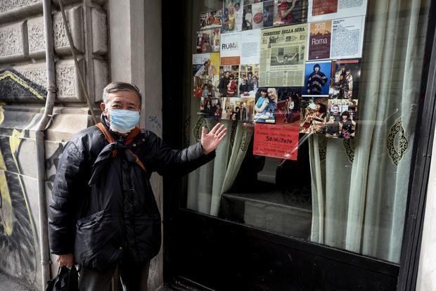 Coronavirus Infection in Rome