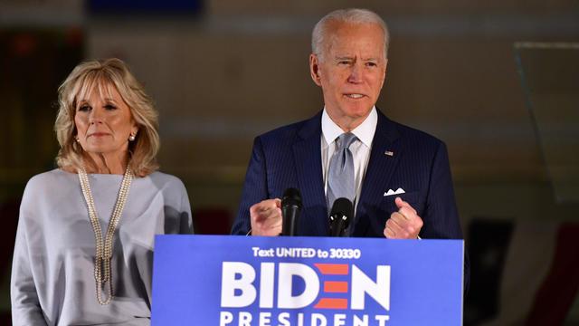 Presidential Candidate Joe Biden Makes Primary Night Remarks In Philadelphia