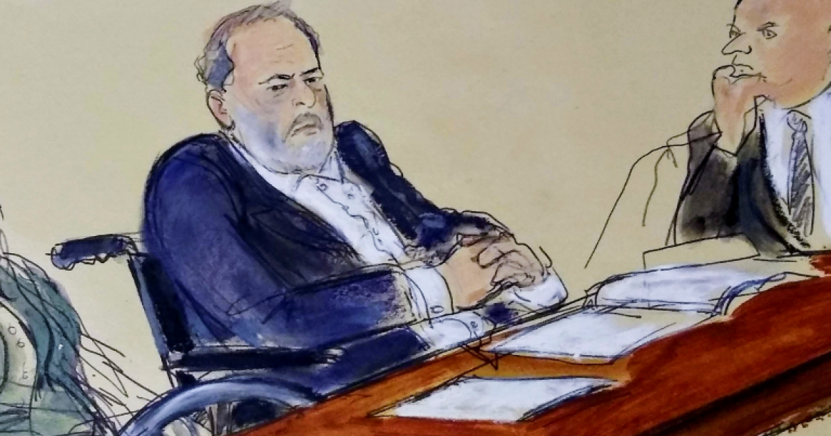 Harvey Weinstein breaks courtroom silence as he is sentenced thumbnail