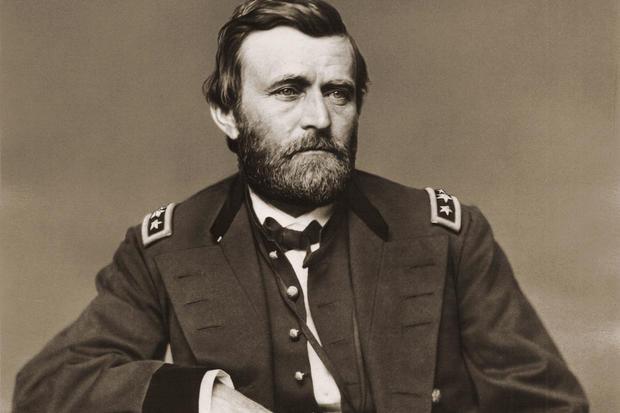 (TIE) 30. Ulysses S. Grant