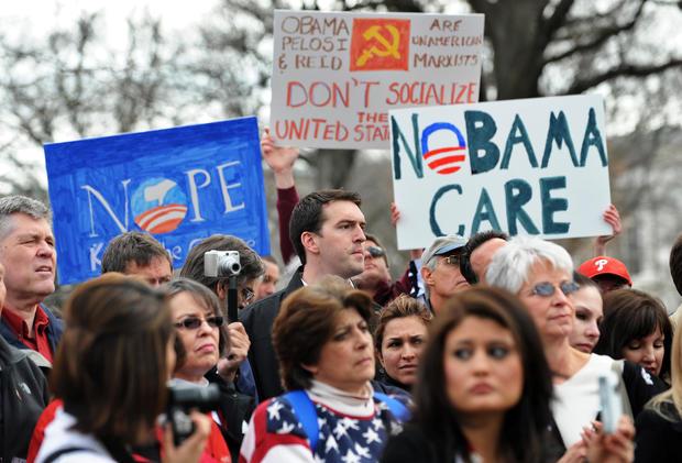 Obamacare protests