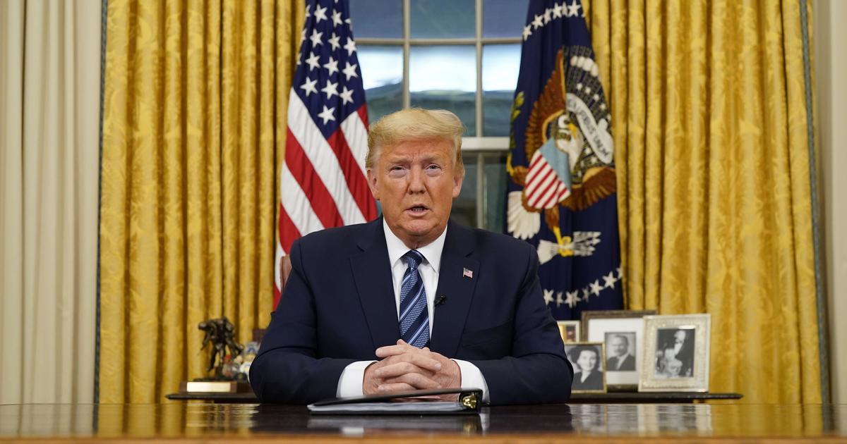 Trump announces new restrictions to stop spread of coronavirus