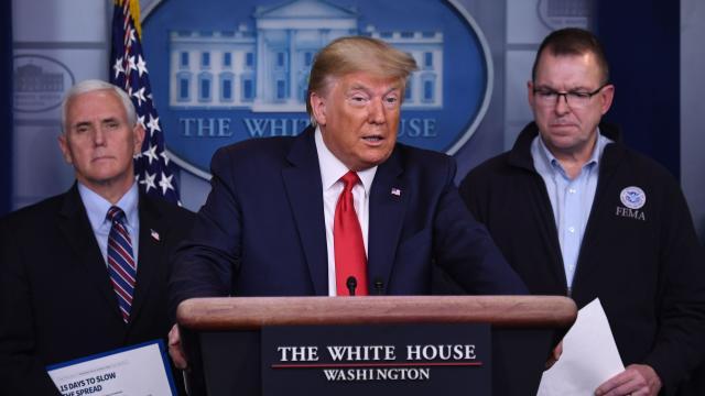 Trump coronavirus task force update Sunday, March 22