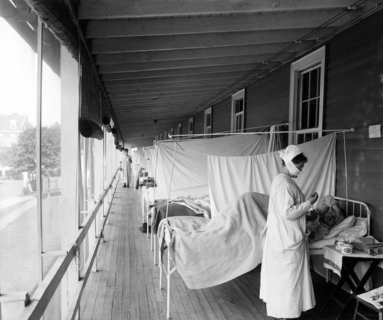 Photos from the 1918 Spanish flu pandemic