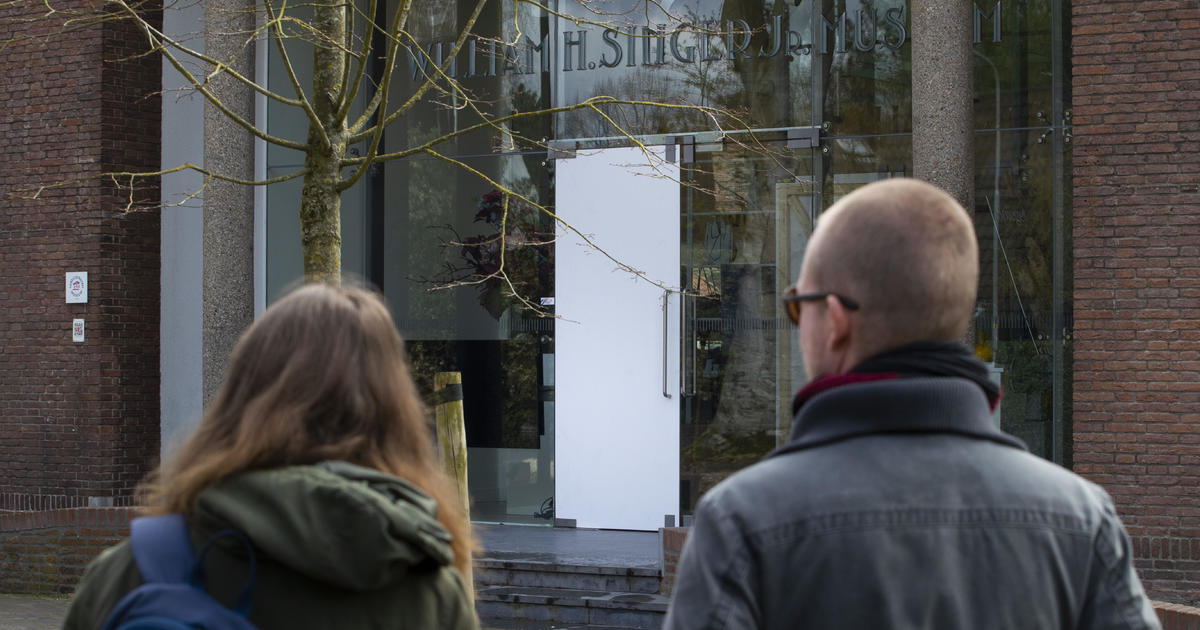 Van Gogh Painting Spring Garden Stolen From Dutch Museum Closed