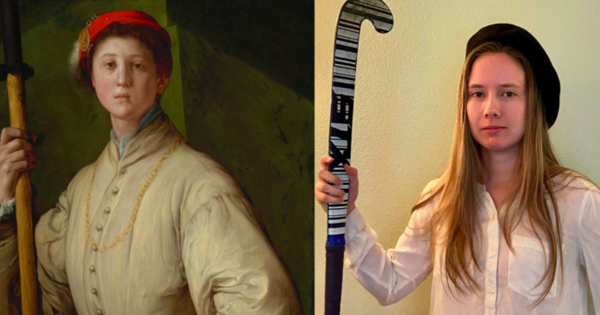 The Getty Museum called for people to recreate...