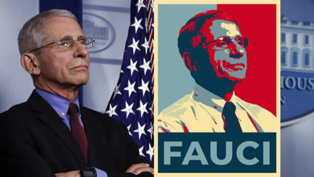 A grateful nation thanks Dr. Anthony Fauci - CBS News