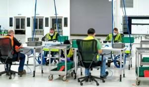 Ford converts auto plant into ventilator factory