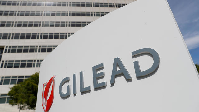 FILE PHOTO: A Gilead Sciences Inc. office is shown in Foster City, California