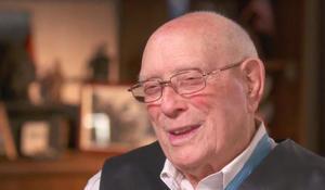 Iwo Jima war hero honored for lifetime of service