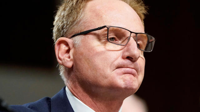 Acting Secretary of the Navy Thomas Modly testifies to the Senate Armed Services Committee during a hearing on Capitol Hill in Washington December 3, 2019.