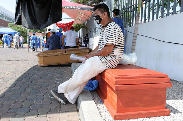 Coronavirus Continues To Overwhelm Guayaquil