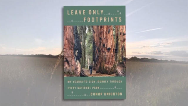 Hardcover - Leave Only Footprints - Conor Knighton