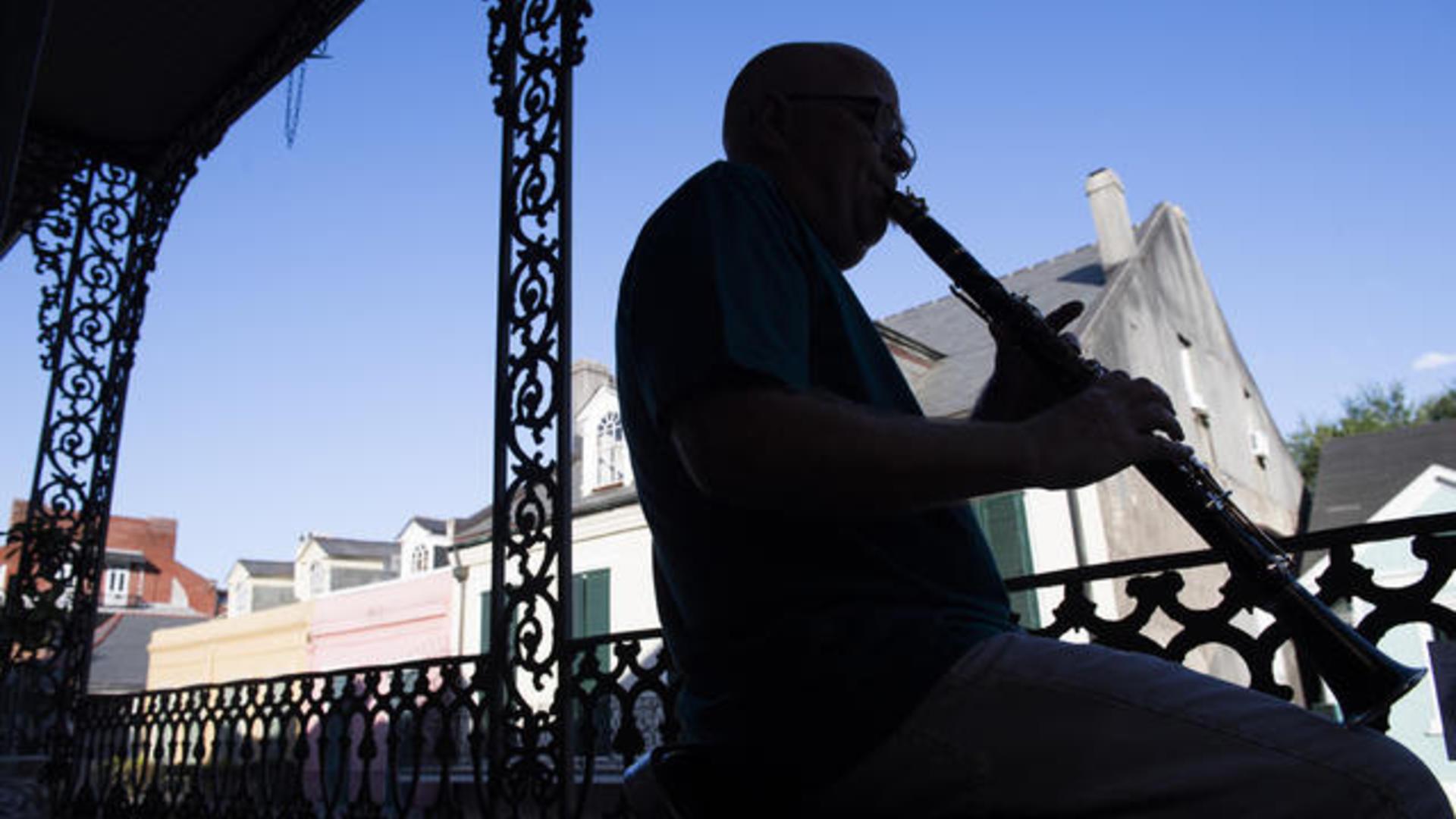 Photos Of The Week New Orleans Under Coronavirus Cbs News
