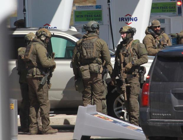 CANADA-CRIME-POLICE-SHOOTING