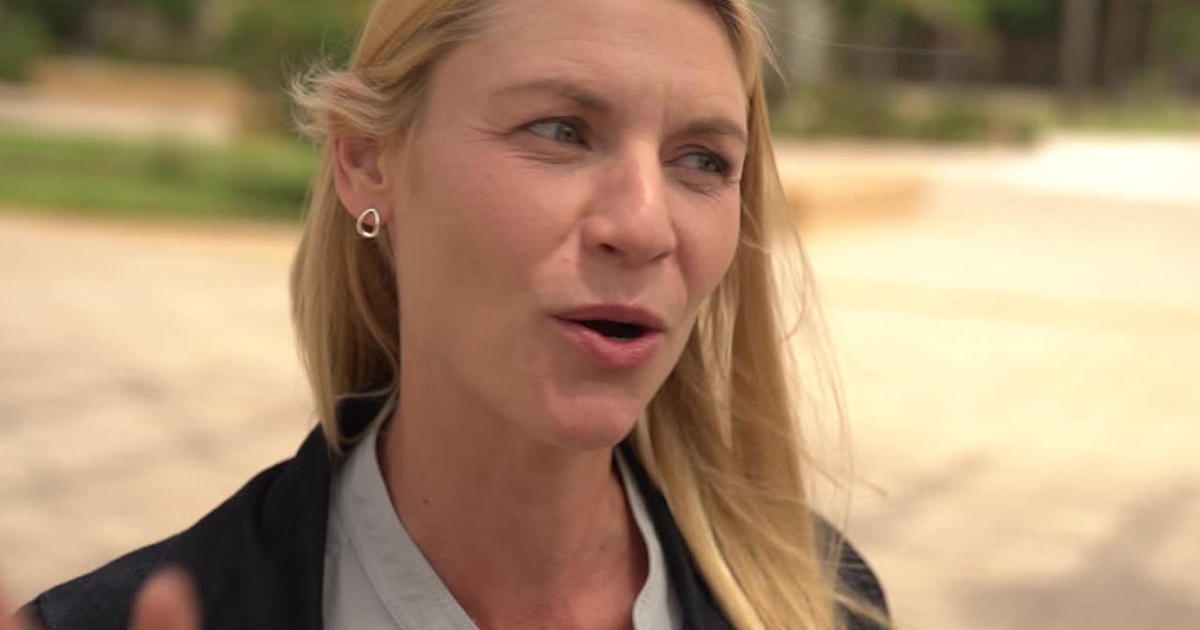 """Photo of Claire Danes on """"Homeland,"""" and the embarrassment of fame   cbssunday"""