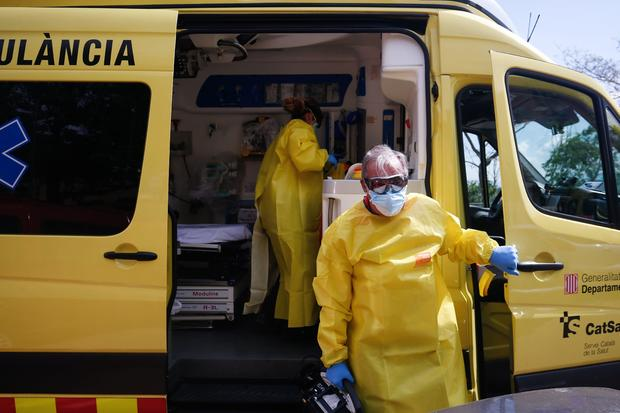 SPAIN-HEALTH-VIRUS-PANDEMIC-EMERGENCY