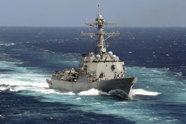 Virus Outbreak Navy USS Kidd