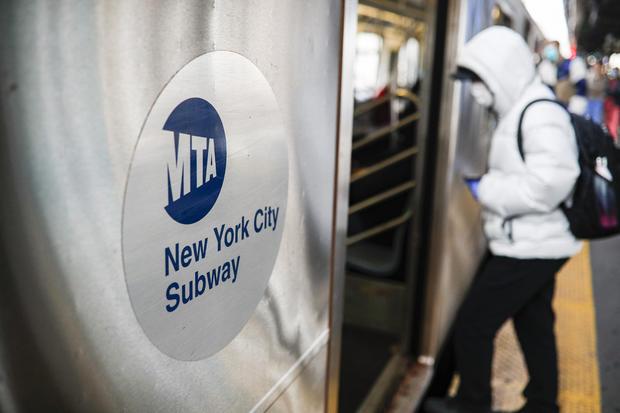 New York City subway during coronavirus
