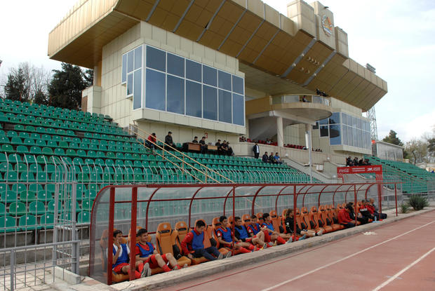 Soccer Football - Major League - FC Lokomotiv-Pamir v FC Fayzkand - Dushanbe, Tajikistan