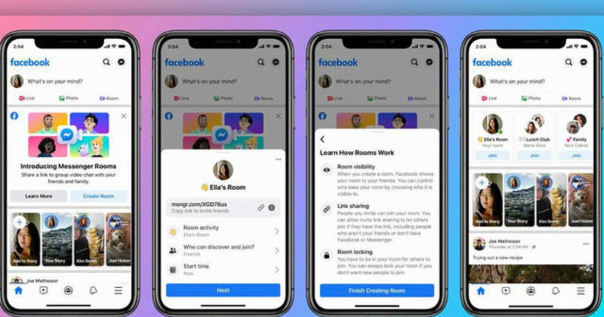 Facebook Messenger Rooms Screenshot
