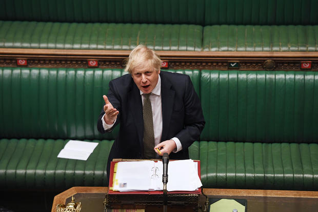 Boris Johnson — Prime Minister's Questions session in Parliament in London