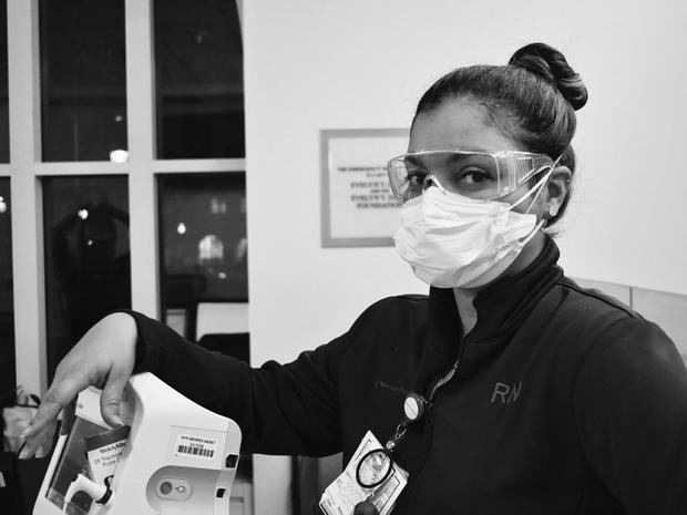 Pandemic: ER workers on the frontlines in NYC
