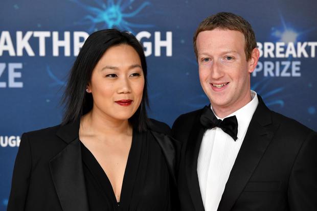 Mark Zuckerberg Priscilla Chan