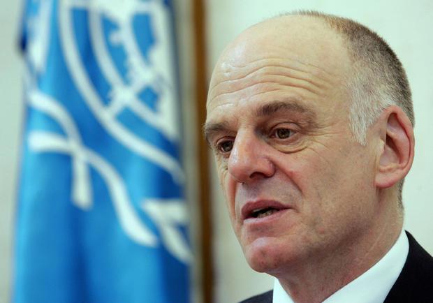 Top UN bird flu official, David Nabarro