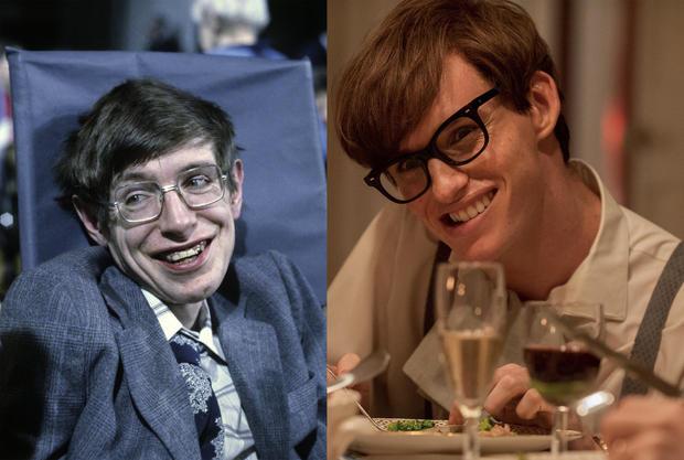 Stephen Hawking - Eddie Redmayne