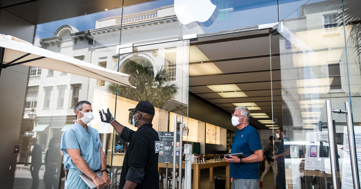 Apple to reopen 100 stores in the U.S. this week