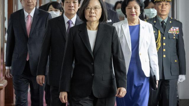 APTOPIX Taiwan Politics