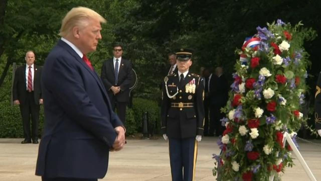 Arlington Cemetery Christmas Wreath Laying 2020 Trump participates in wreath laying ceremony at Arlington National