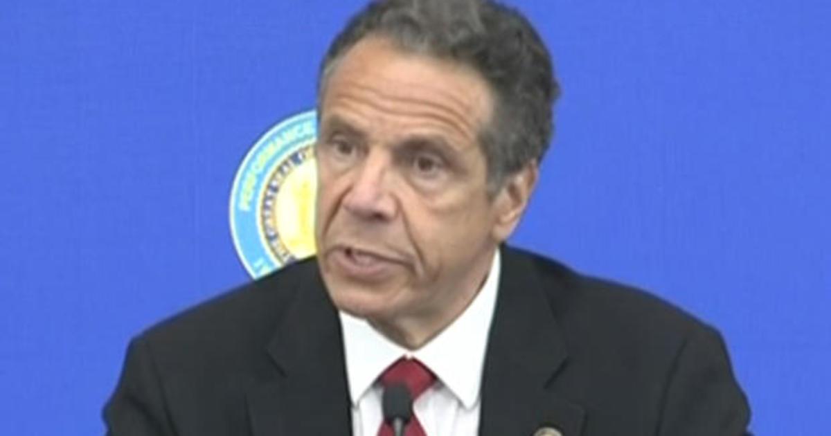 New York Governor Cuomo gives coronavirus update