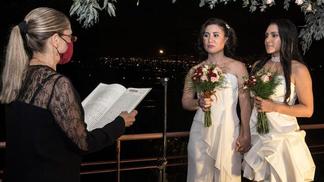 TOPSHOT-COSTA RICA-RIGHTS-LGBT-MARRIAGE
