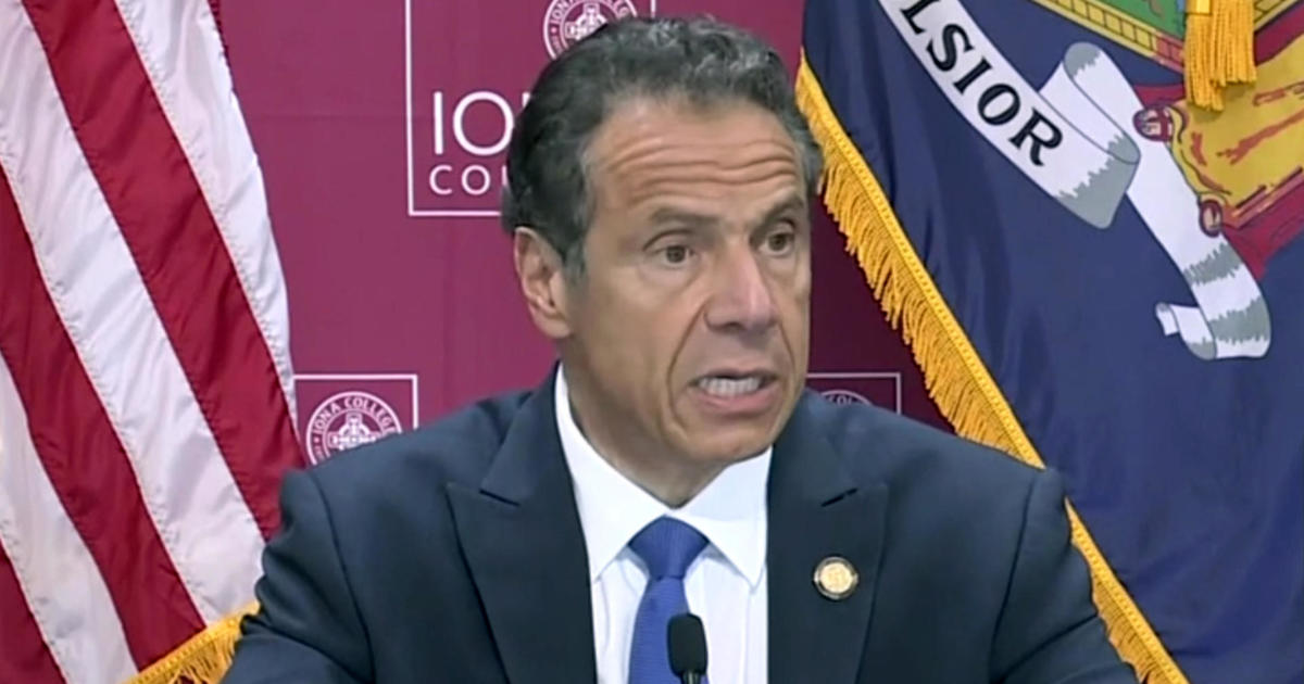Cuomo says New York City on track to...