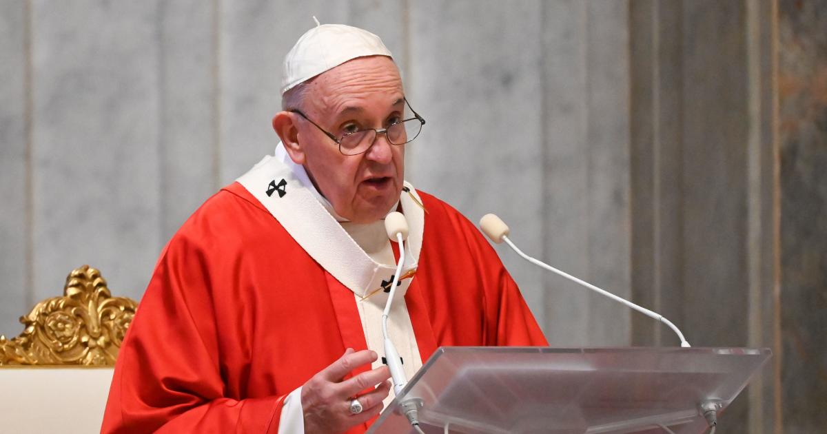 BREAKING: Pope Francis endorses same-sex civil unions for the first time as pontiff
