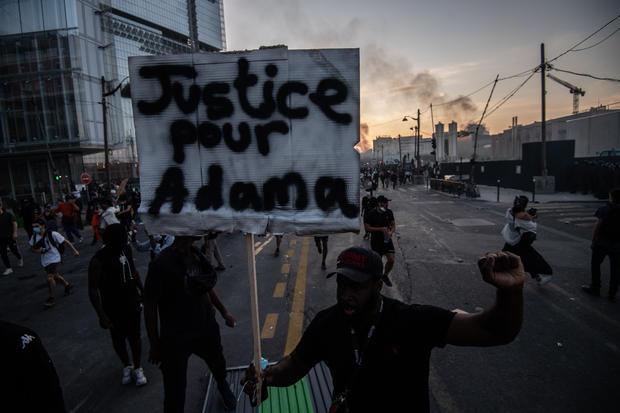 Anti-Racism Protest Continues Despite Ban in Paris