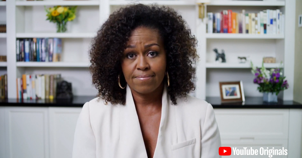 """Michelle Obama """"Dear Class of 2020"""" full video: Former first lady ..."""